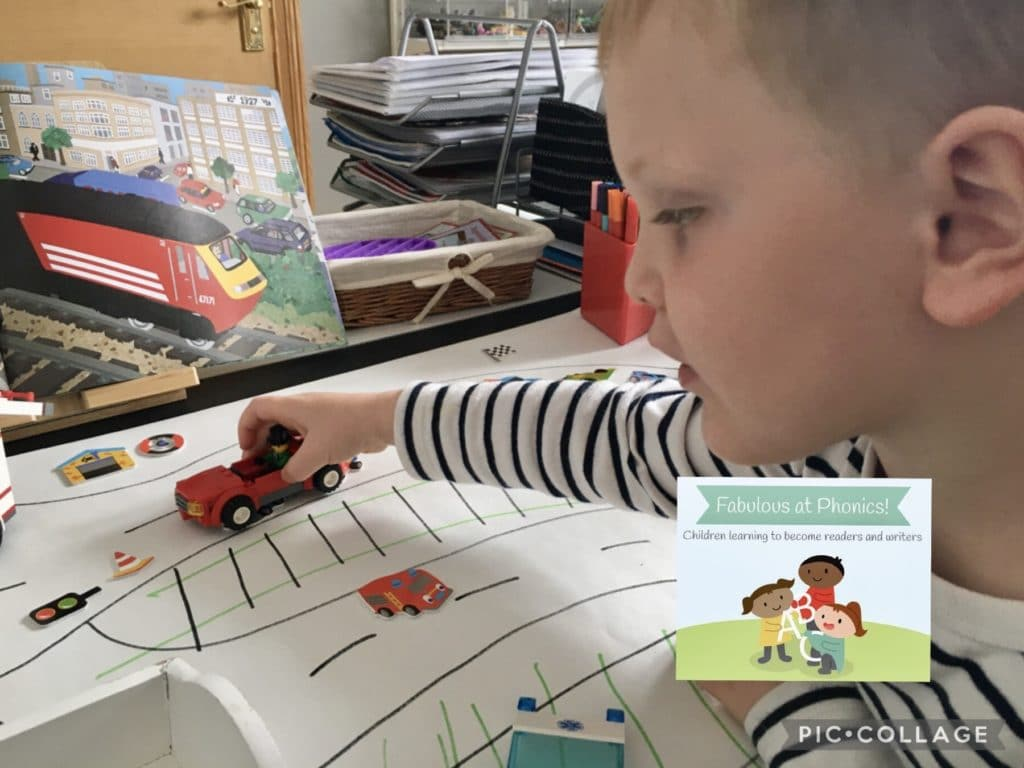 Early mark-making with cars